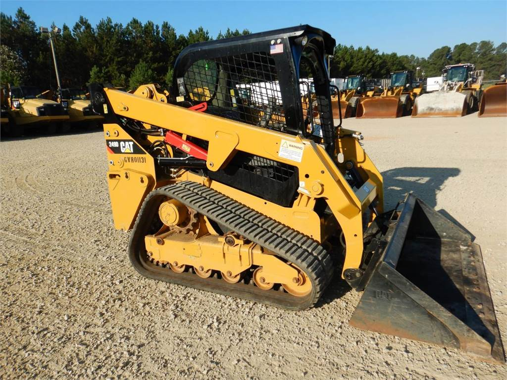 Caterpillar 249 D, Skid Steer Loaders, Construction