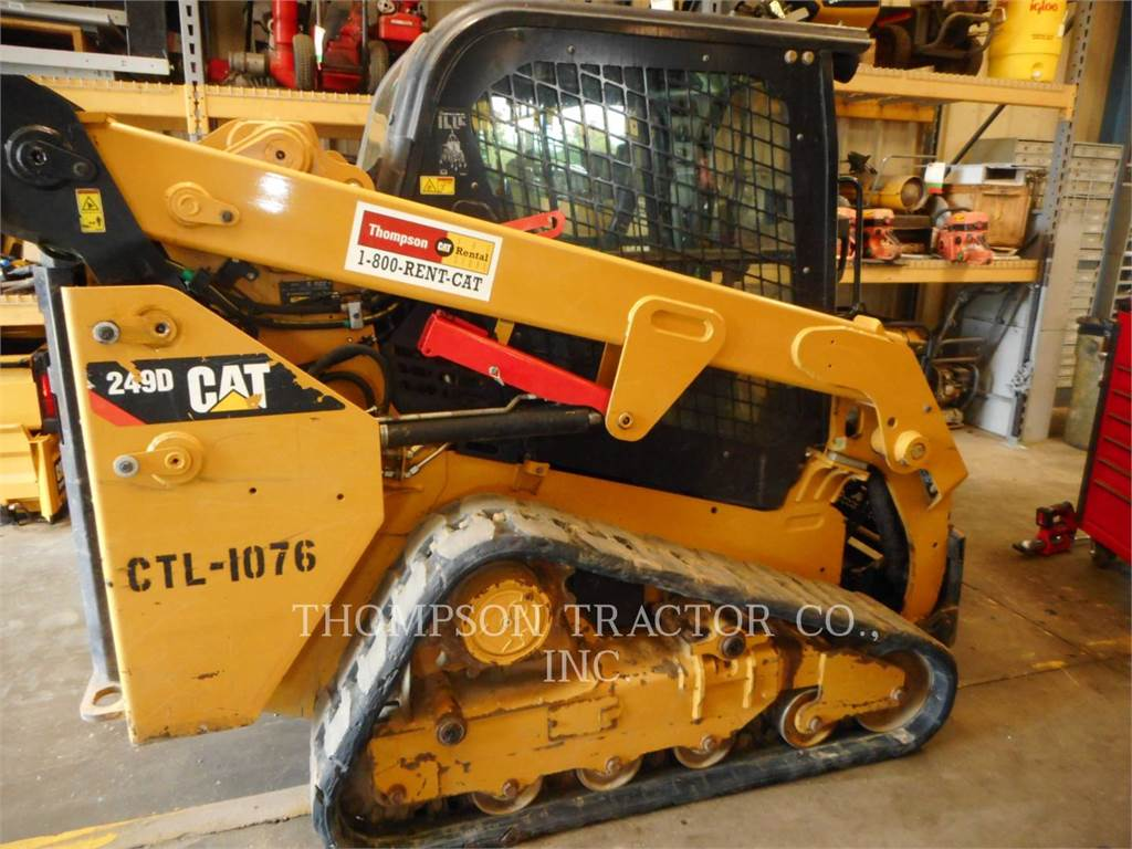 Caterpillar 249 D, Mini ładowarki, Sprzęt budowlany