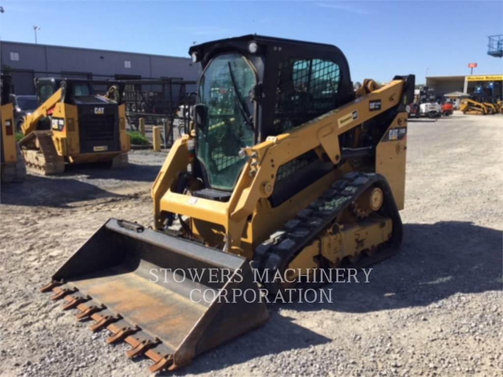 Caterpillar 249D, Carregadoras de direcção deslizante, Equipamentos Construção