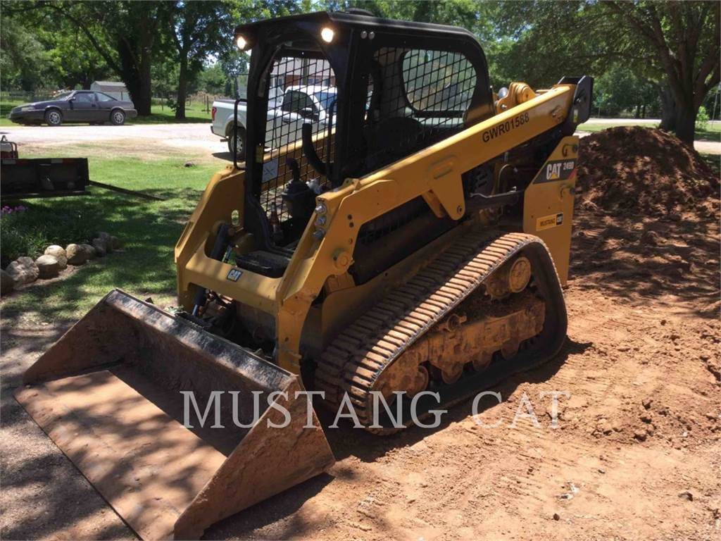 Caterpillar 249D, Skid Steer Loaders, Construction