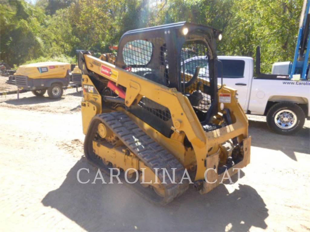 Caterpillar 249D, track loaders, Construction