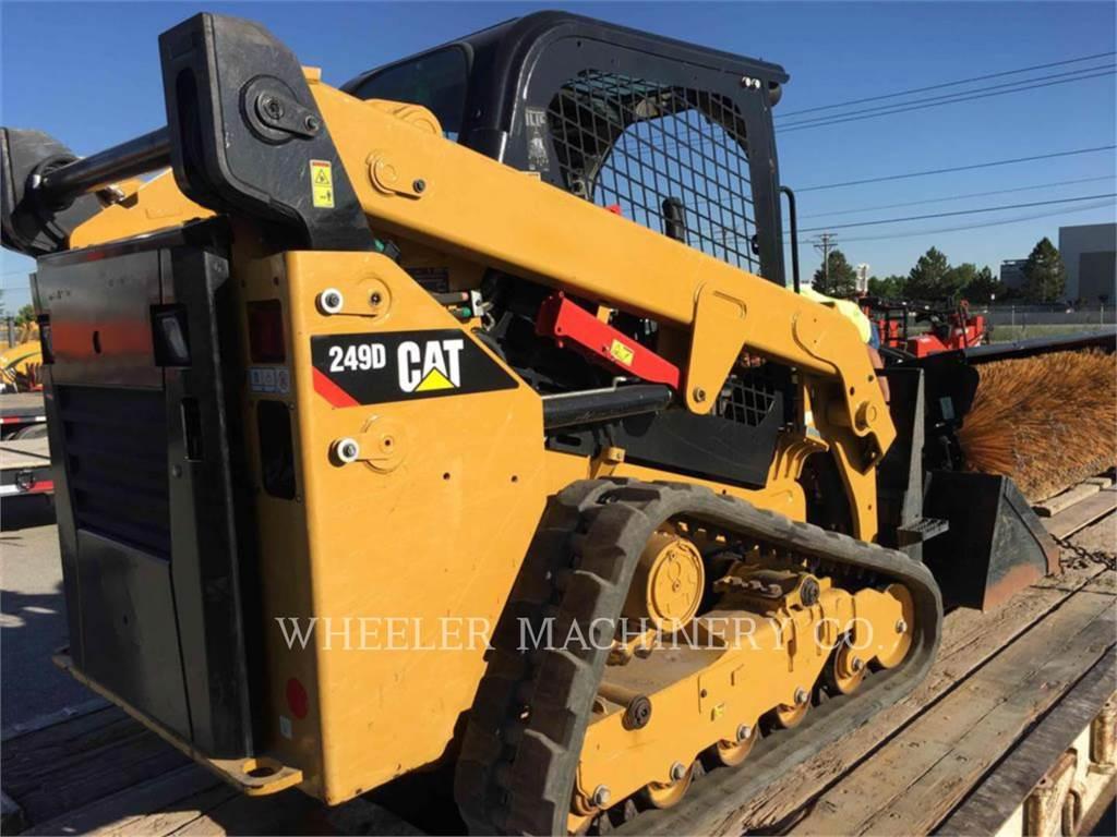 Caterpillar 249D C1-H1, Minicargadoras, Construcción
