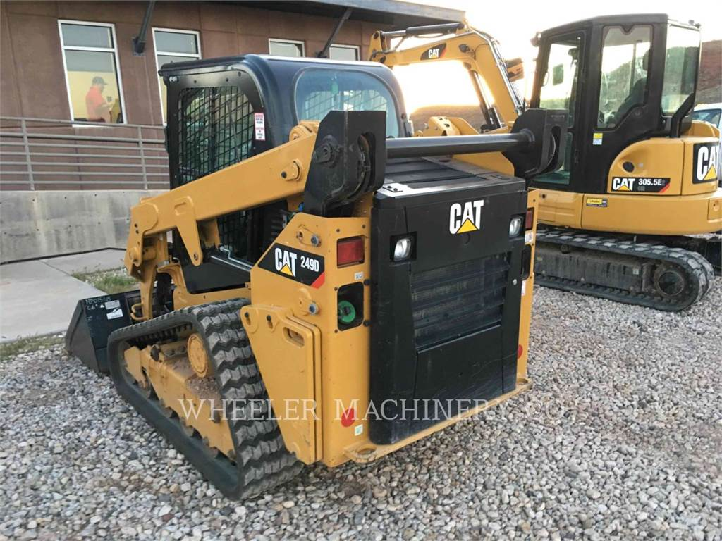 Caterpillar 249D C3-H2, Skid Steer Loaders, Construction