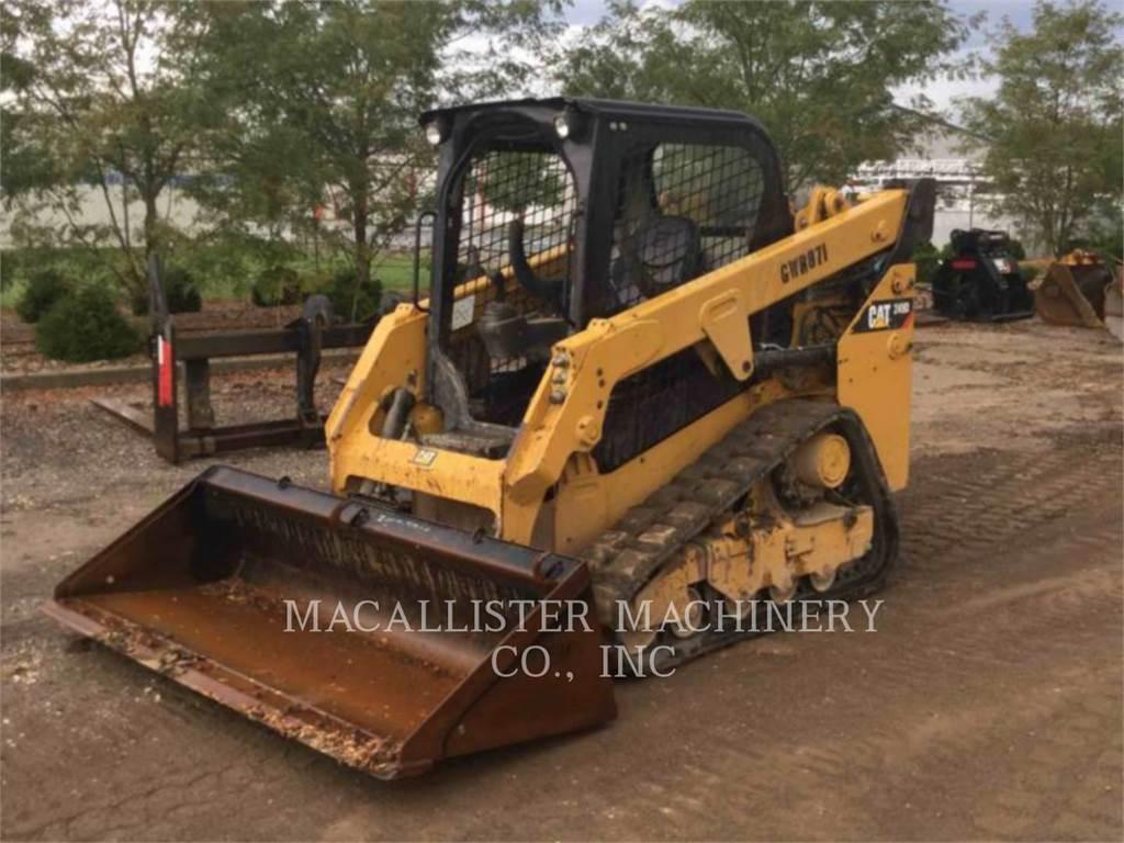 Caterpillar 249D、滑移装载机、建筑设备