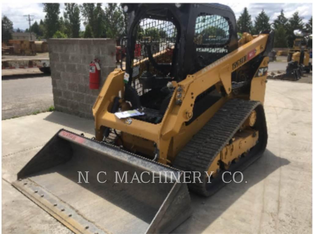 Caterpillar 249D H2CN, Carregadoras de direcção deslizante, Equipamentos Construção