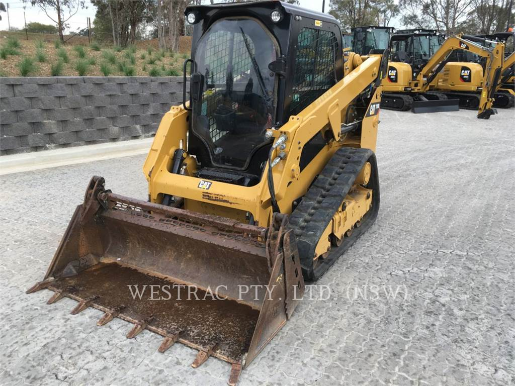 Caterpillar 249DLRC, Skid Steer Loaders, Construction