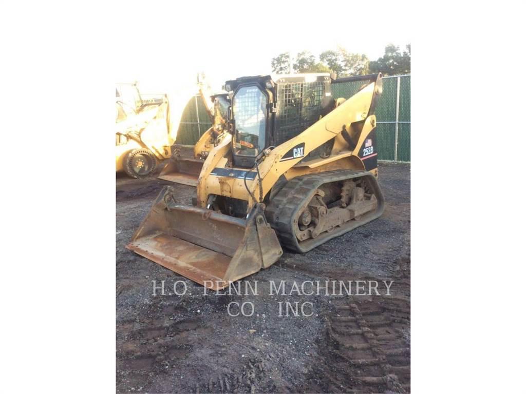 Caterpillar 252B, Mini incarcator, Constructii