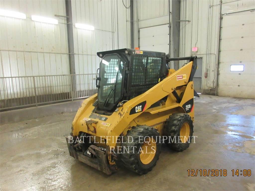 Caterpillar 252B3, Skid Steer Loaders, Construction