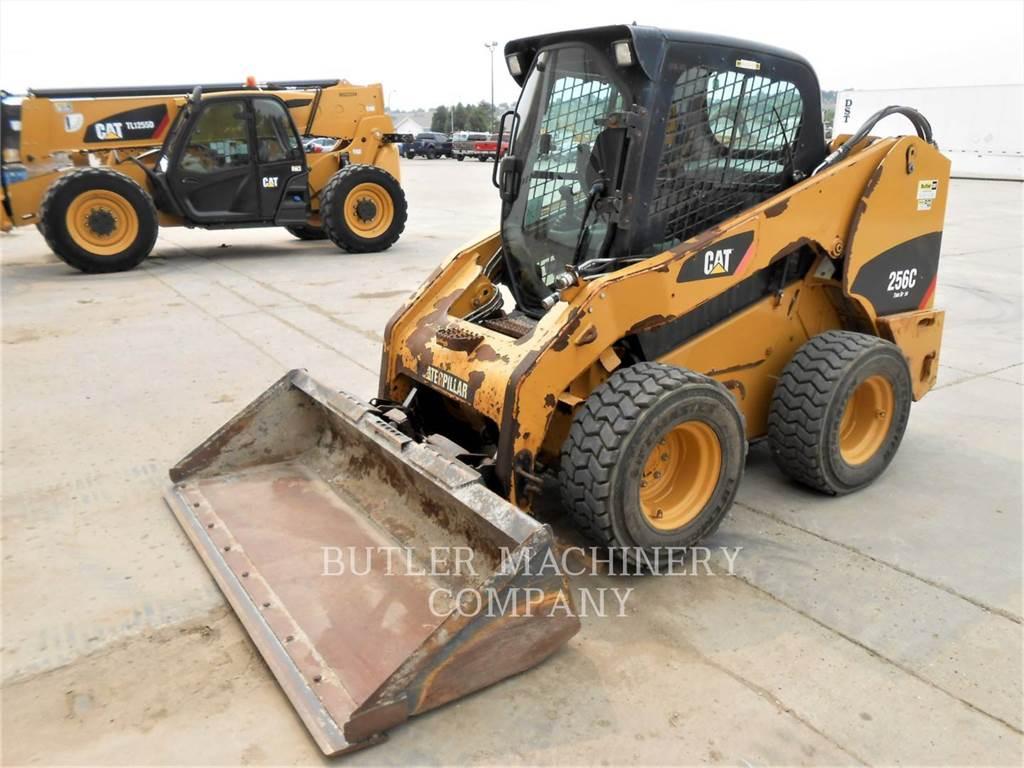Caterpillar 256C, Skid Steer Loaders, Construction