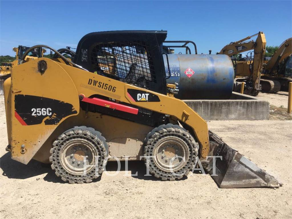 Caterpillar 256C XPS, Skid Steer Loaders, Construction
