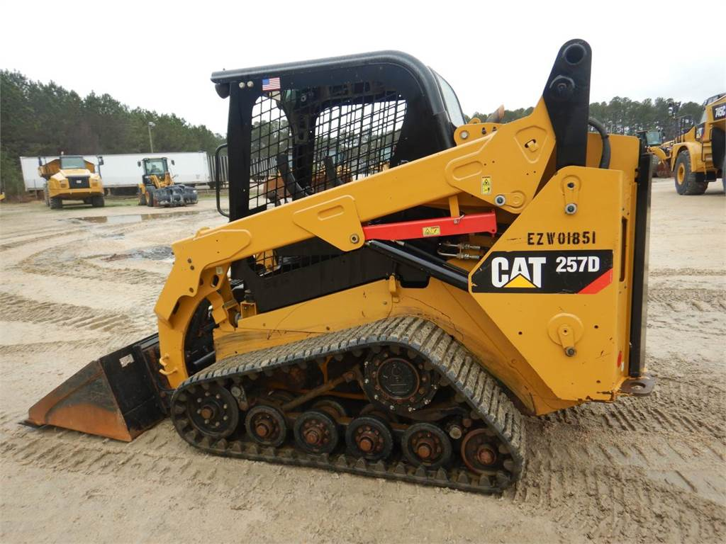 Caterpillar 257 D, Skid Steer Loaders, Construction