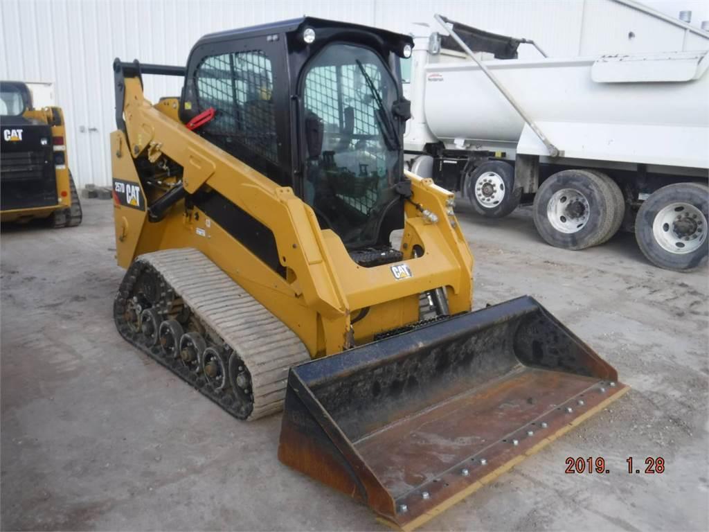 Caterpillar 257 D, Chargeuse compacte, Équipement De Construction