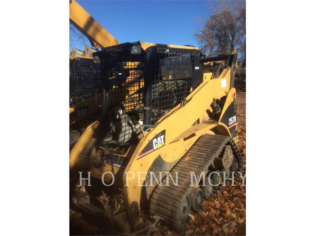 Caterpillar 257B, Skid Steer Loaders, Construction