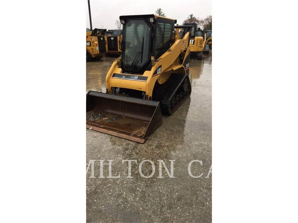 Caterpillar 257B, Mini ładowarki, Sprzęt budowlany