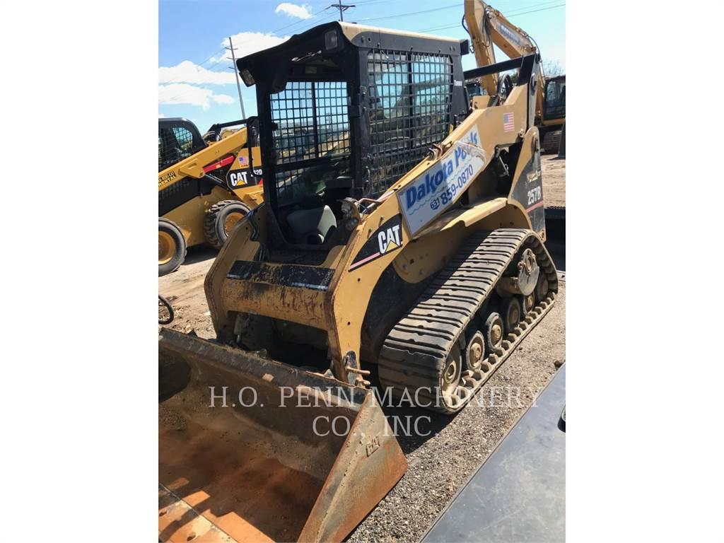Caterpillar 257B, Carregadoras de direcção deslizante, Equipamentos Construção
