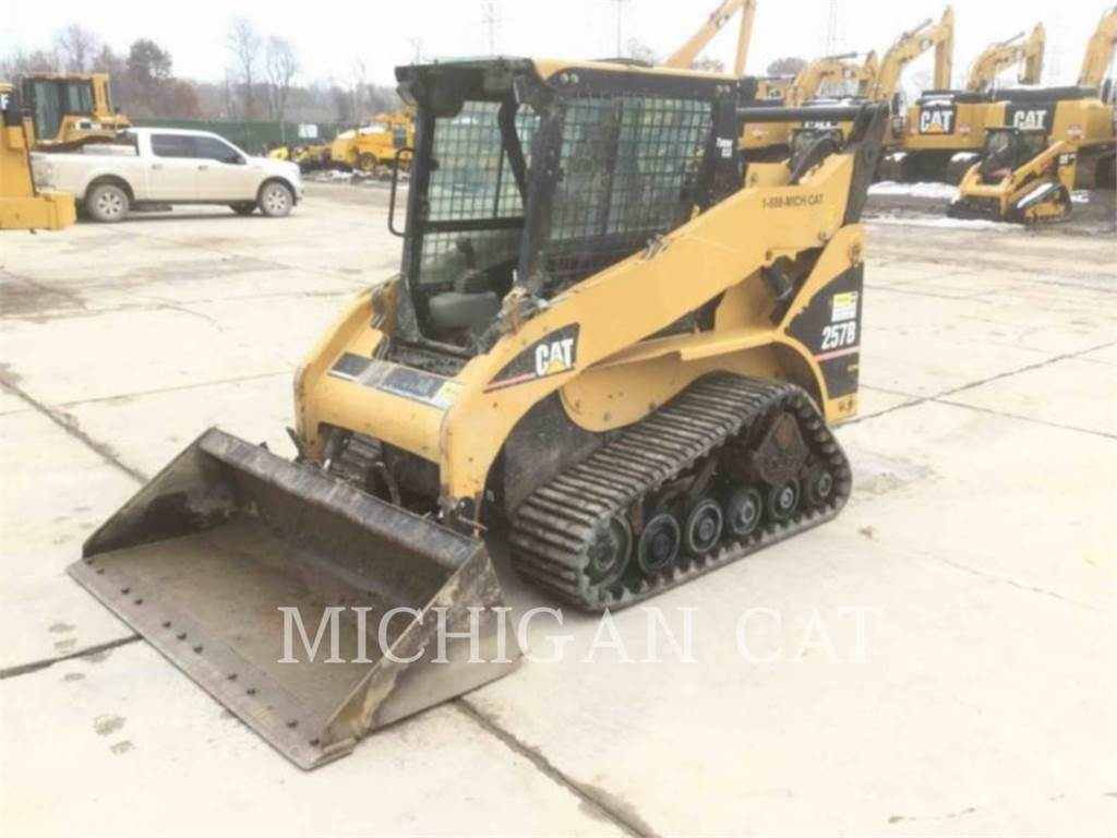 Caterpillar 257B C, Skid Steer Loaders, Construction
