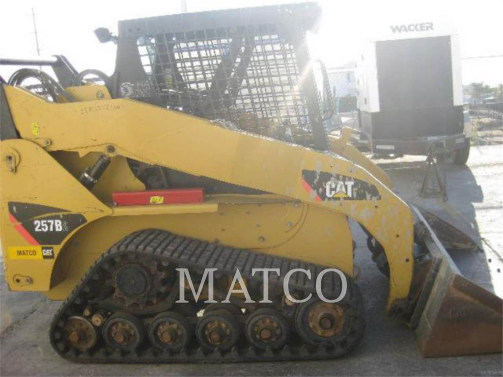 Caterpillar 257B2, Skid Steer Loaders, Construction