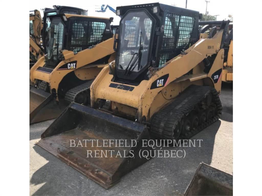 Caterpillar 257B2, Carregadoras de direcção deslizante, Equipamentos Construção