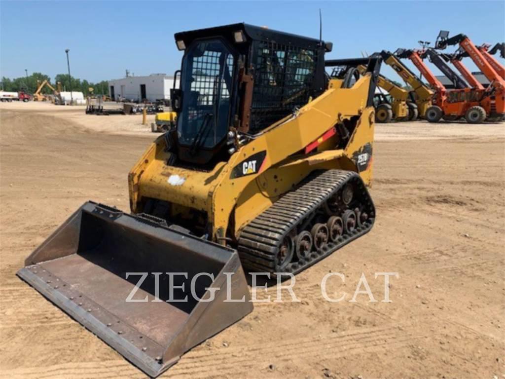Caterpillar 257B3, track loaders, Construction