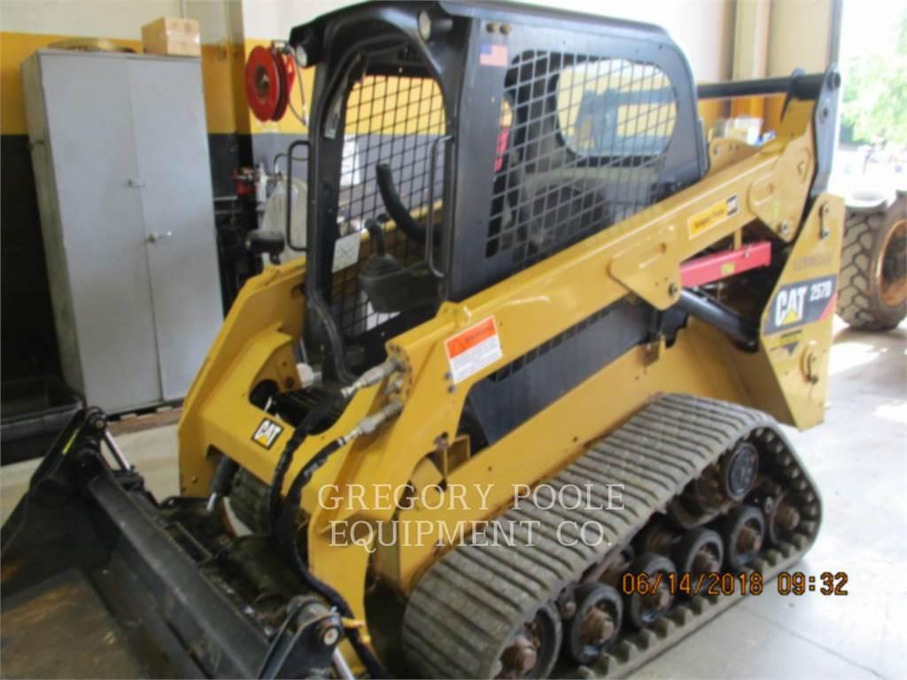 Caterpillar 257D, Skid Steer Loaders, Construction