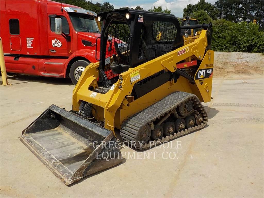 Caterpillar 257D, Mini incarcator, Constructii