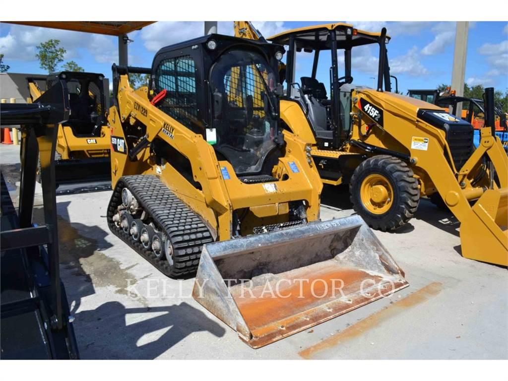 Caterpillar 257D, Mini ładowarki, Sprzęt budowlany