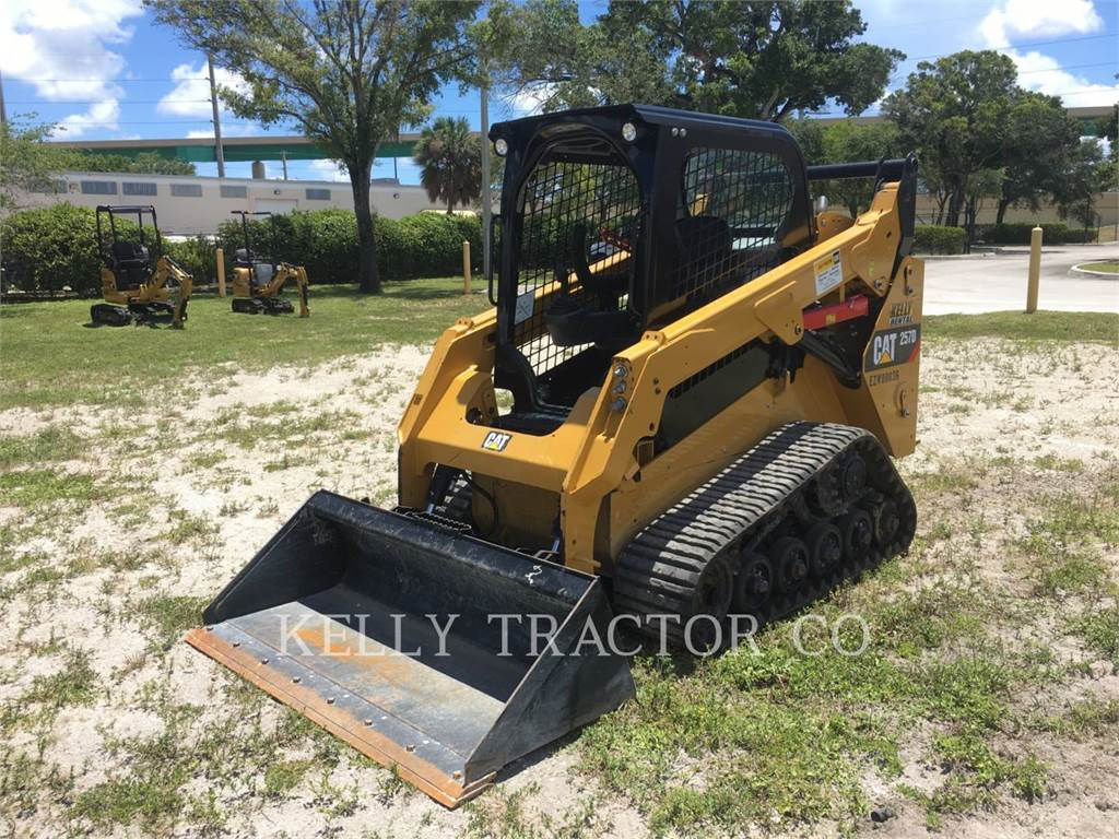 Caterpillar 257D, Skid Steer Loaders, Construction
