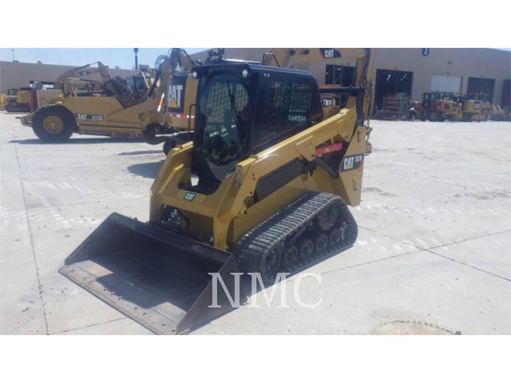Caterpillar 257D, Minicargadoras, Construcción