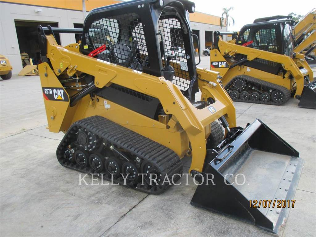 Caterpillar 257D, Mini incarcator, Constructii