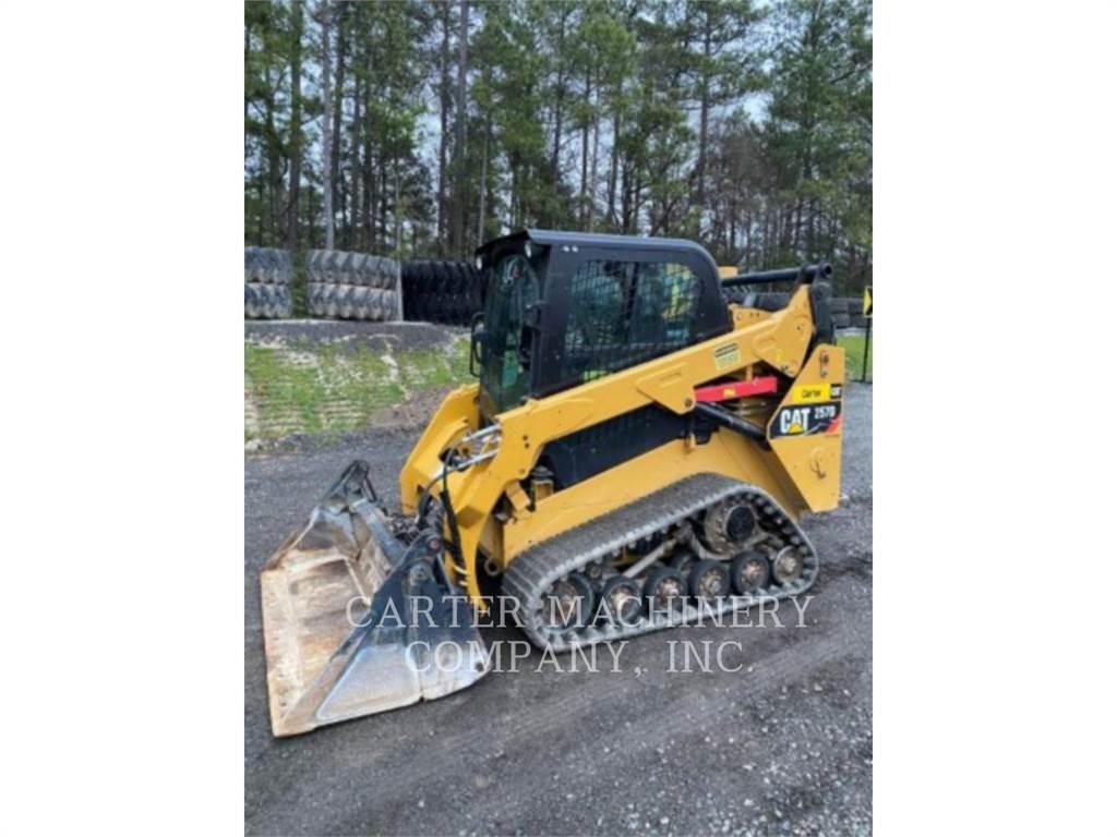 Caterpillar 257D AC, Mini ładowarki, Sprzęt budowlany