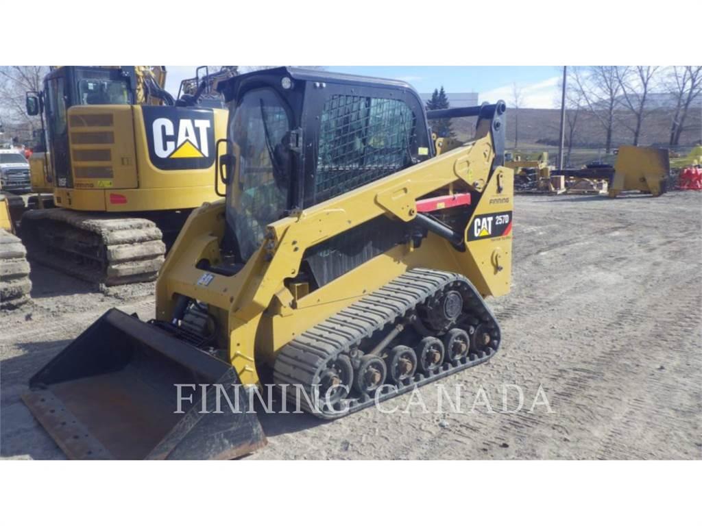 Caterpillar 257D XPS, Mini incarcator, Constructii