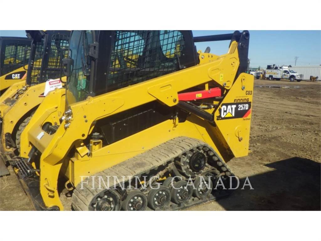 Caterpillar 257DLRC, Carregadoras de direcção deslizante, Equipamentos Construção