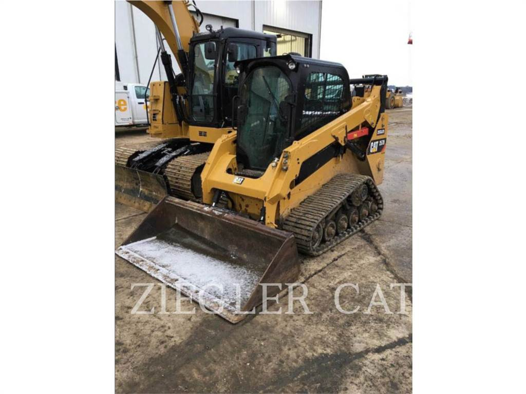 Caterpillar 257DS, Mini incarcator, Constructii