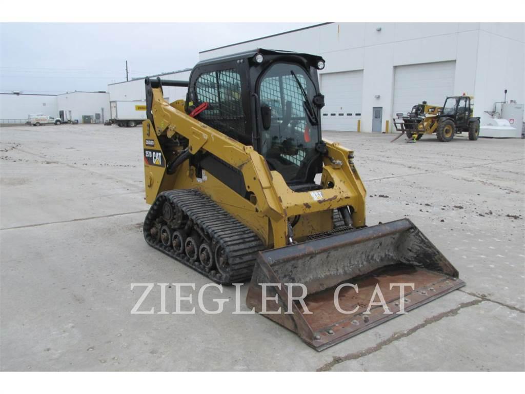 Caterpillar 257DS, Skid Steer Loaders, Construction