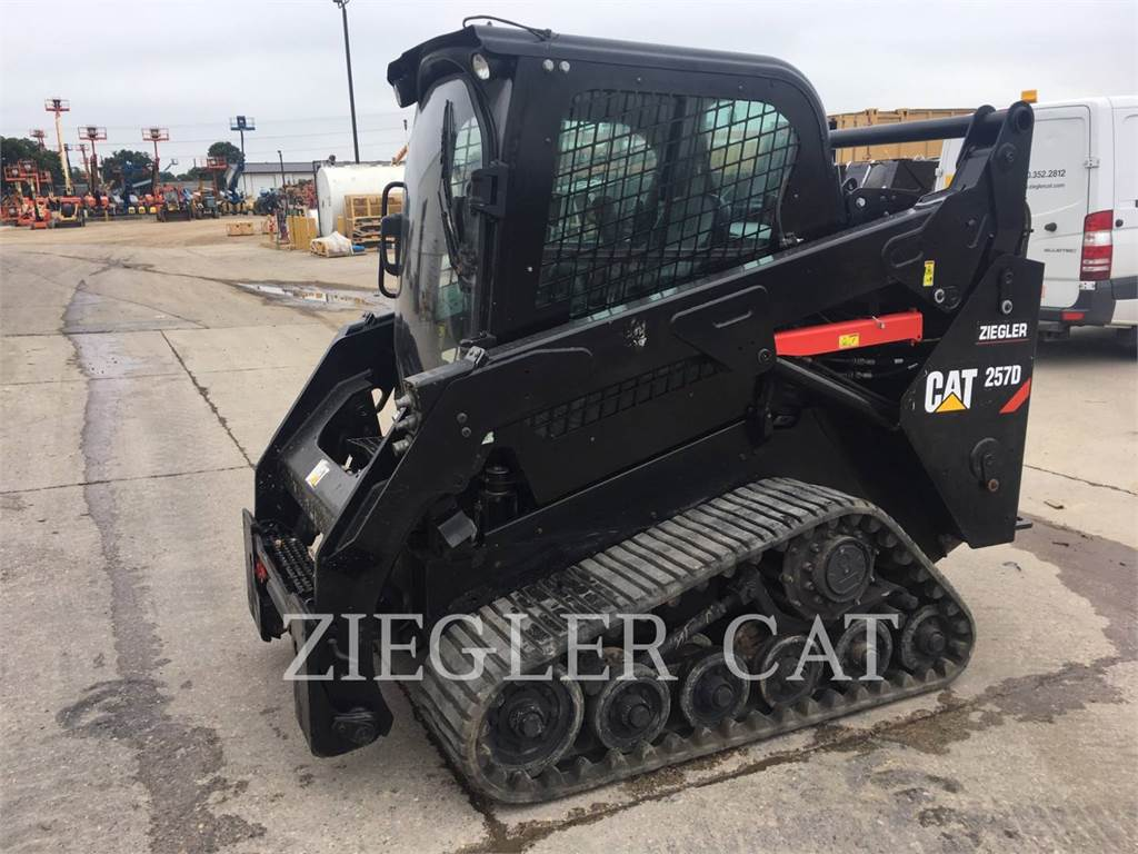 Caterpillar 257DS, Skid Steer Loaders, Construction
