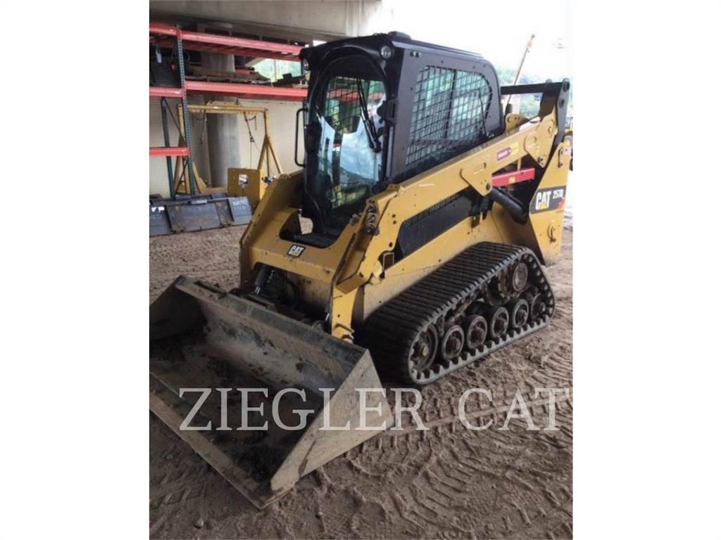 Caterpillar 257DSR, Mini incarcator, Constructii