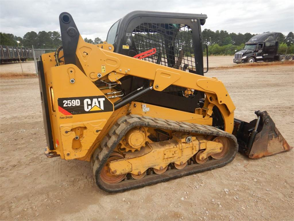 Caterpillar 259 D, Mini incarcator, Constructii