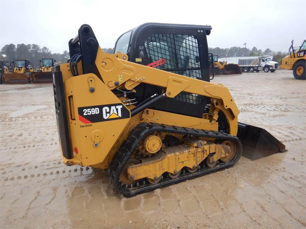 Caterpillar 259 D、滑移装载机、建筑设备