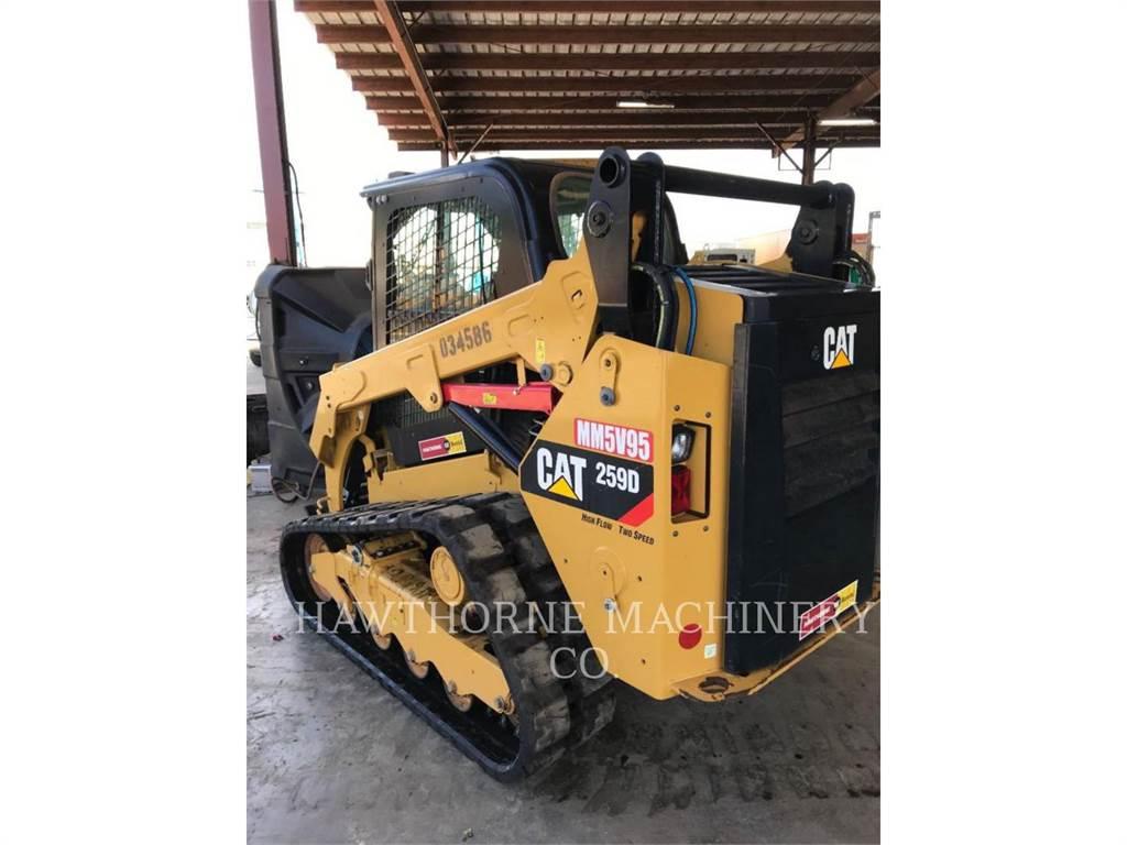 Caterpillar 259 D, Kompaktlader, Bau-Und Bergbauausrüstung