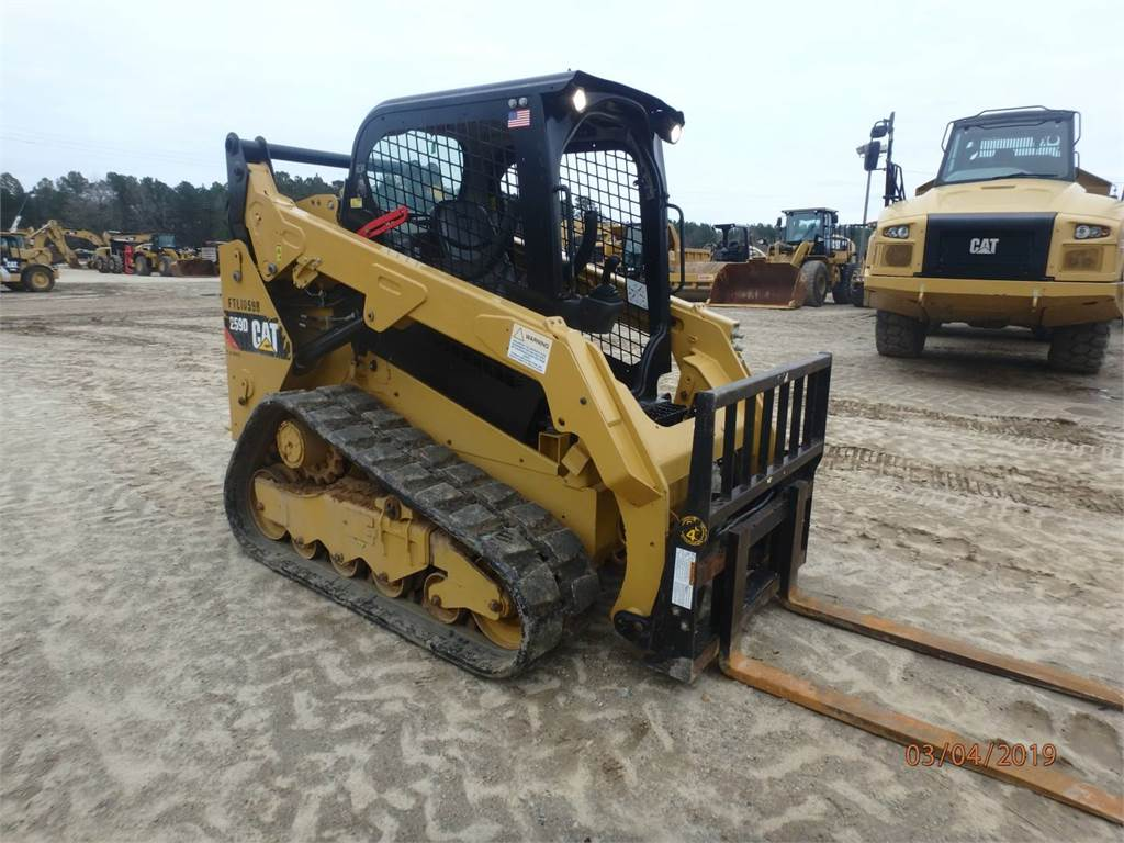Caterpillar 259 D, Skid Steer Loaders, Construction