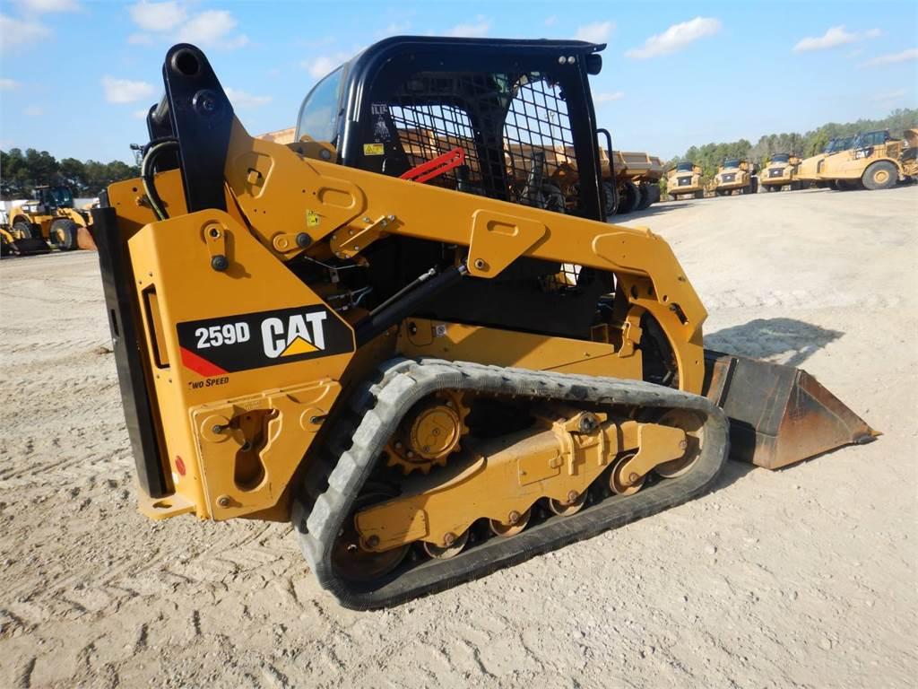 Caterpillar 259 D, Mini incarcator, Constructii