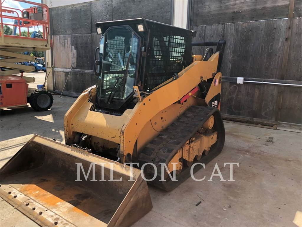 Caterpillar 259B 3, Skid Steer Loaders, Construction