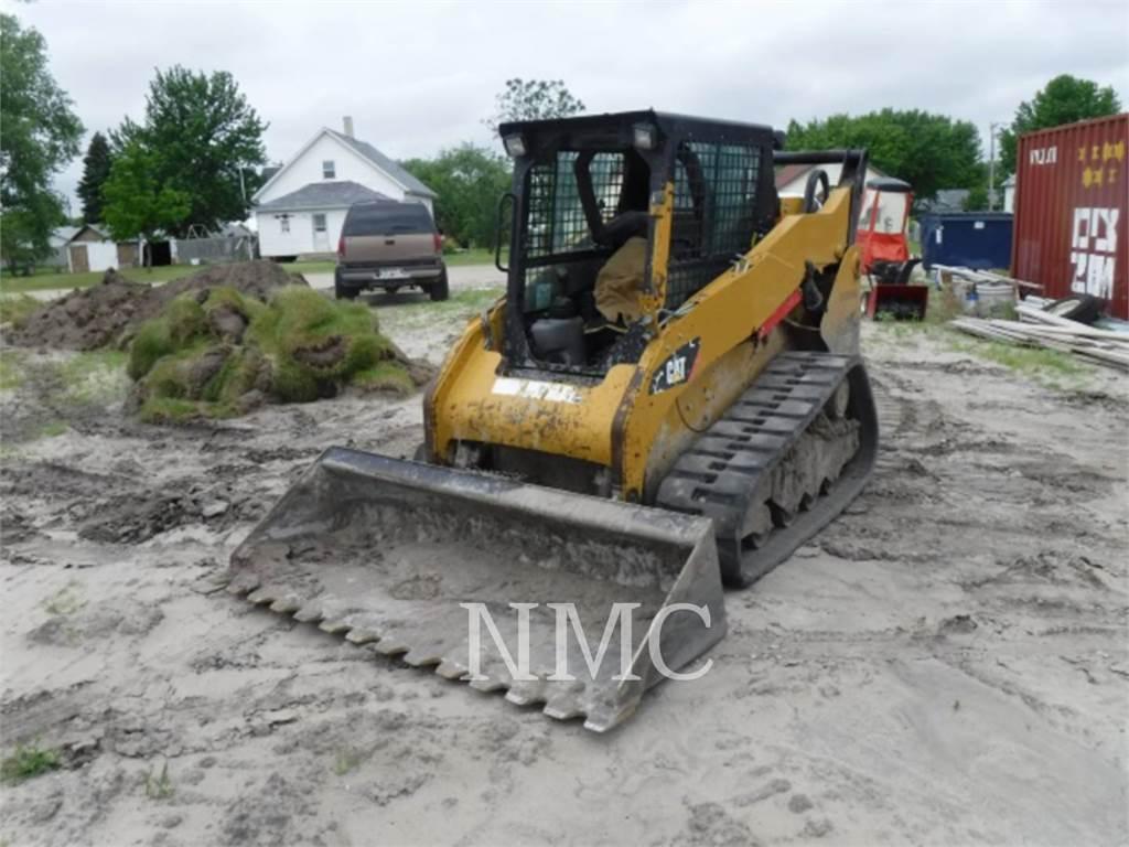 Caterpillar 259B3, Skid Steer Loaders, Construction