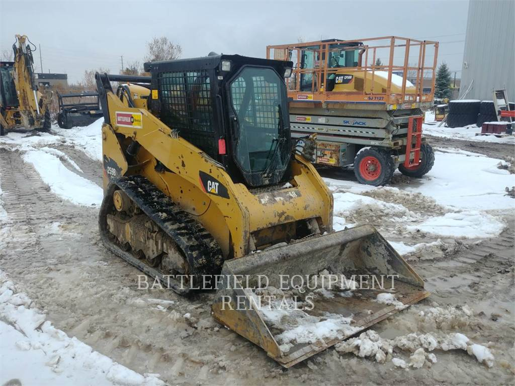 Caterpillar 259B3, Skid Steer Loaders, Construction