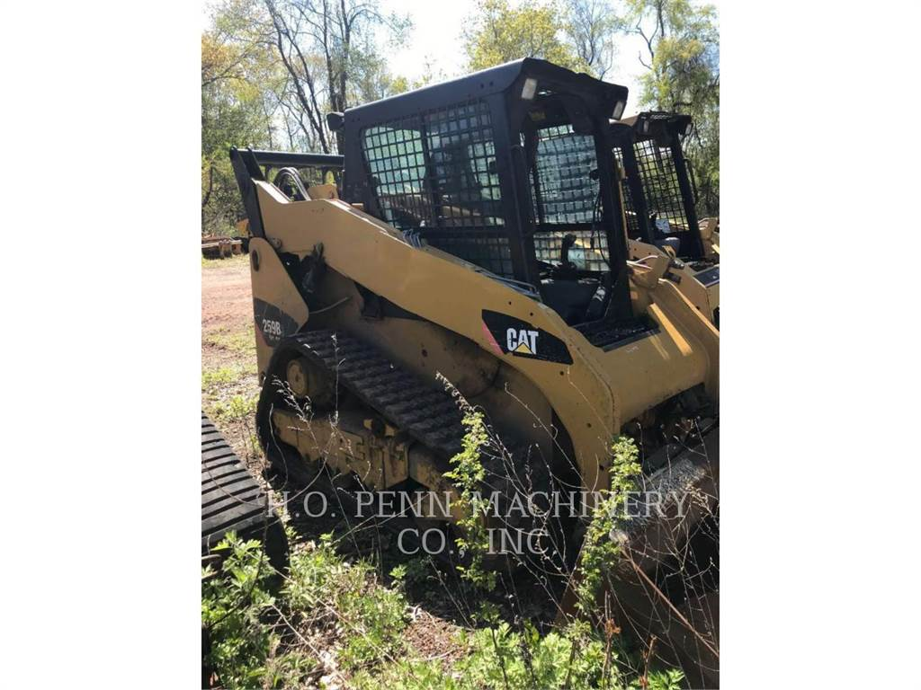 Caterpillar 259B3, cargadores de cadenas, Construcción