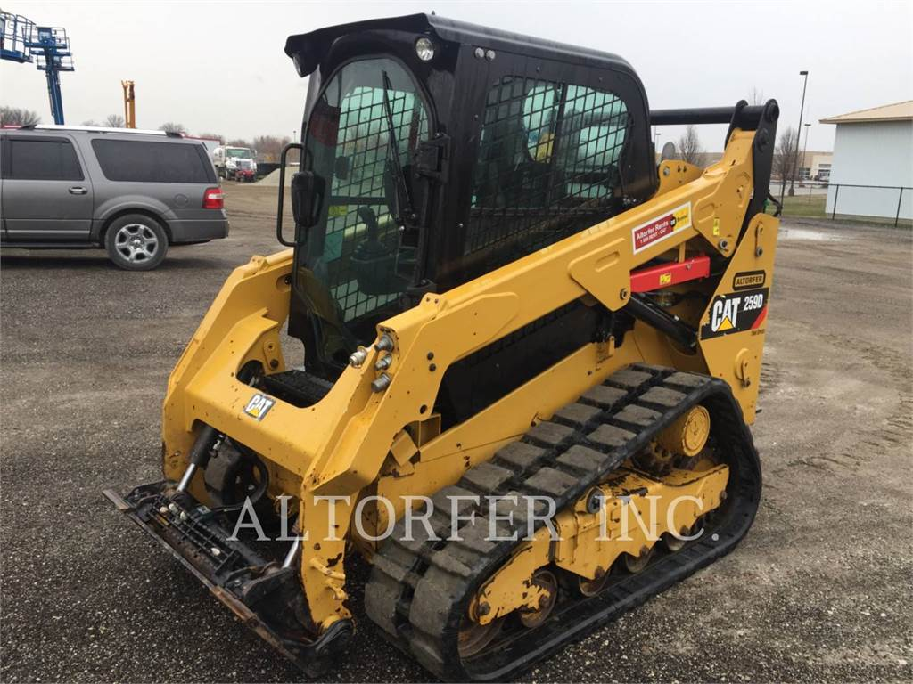 Caterpillar 259D, Skid Steer Loaders, Construction