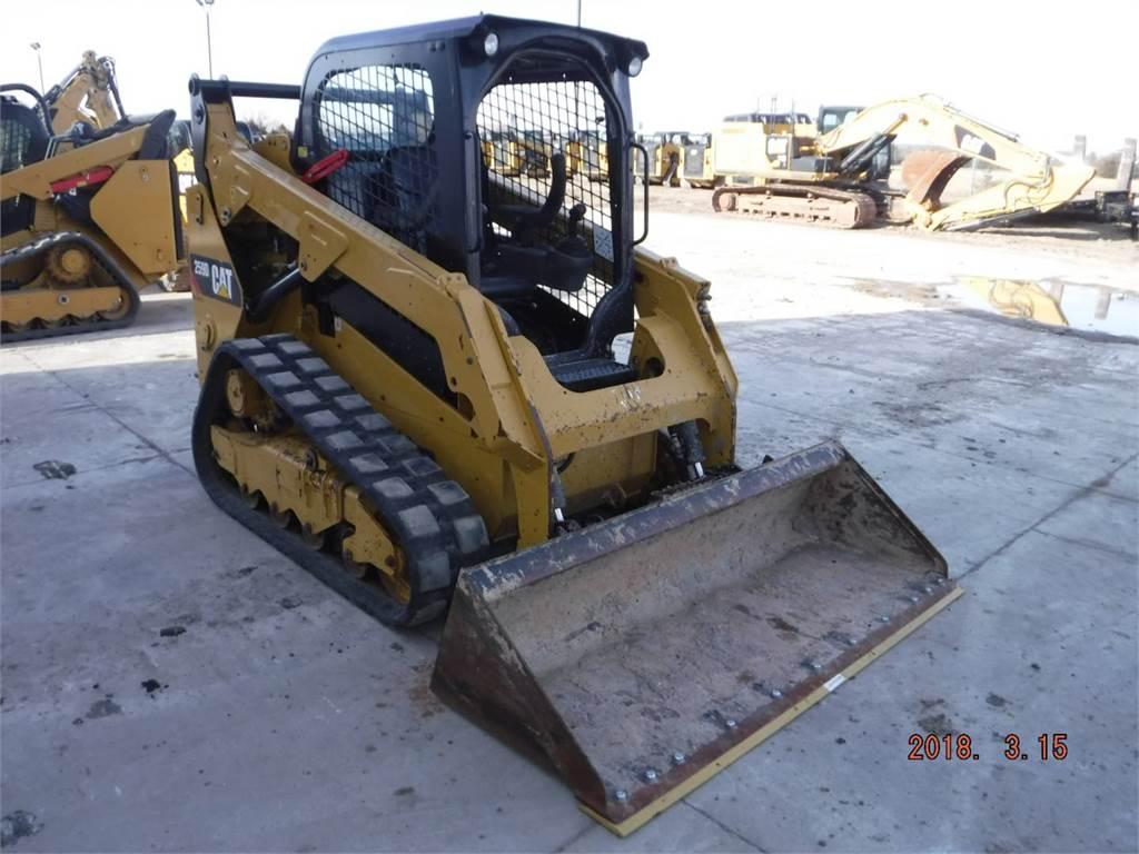 Caterpillar 259D, Kompaktlader, Bau-Und Bergbauausrüstung