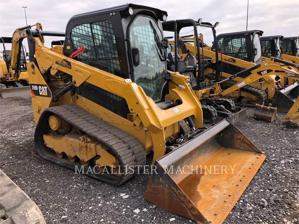Caterpillar 259D、スキッドステアローダー、建設