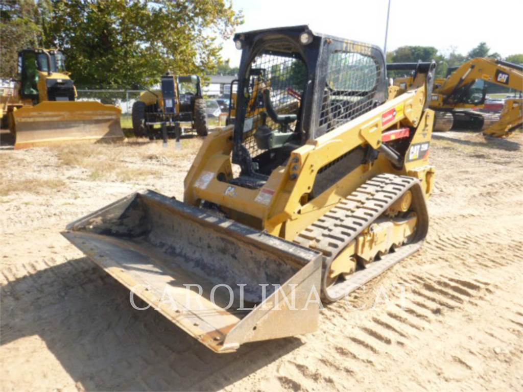 Caterpillar 259D, track loaders, Construction