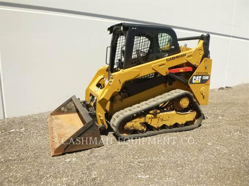 Caterpillar 259D, încărcătoare cu şenile, Constructii